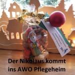 Der Nikolaus besucht das AWO Pflegeheim