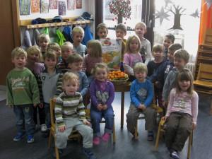 Die Kinder des Kindergartens Stubersheim freuen sich schon.