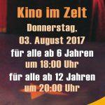 "Sozialer Förderverein veranstaltet ""Kino im Zirkuszelt"""